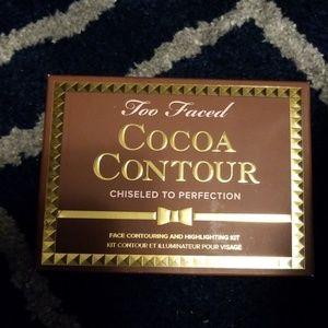 NWT Too Faced Cocoa Contour palette